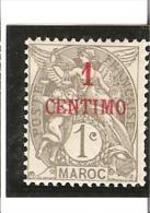 TIMBRES DE FRANCE Avec Valeur En Espagnole  N° 20 *   Trace De Charnière - Unused Stamps