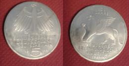 "GERMANIA 5 MARCHI 1979 ZECCA ""J""  ARGENTO - [ 6] 1949-1990 : RDA - Rép. Démo. Allemande"