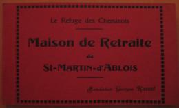 Recueil De 12 CPA Maison De Retraite De St Martin D'Ablois Le Refuge Des Cheminots - France