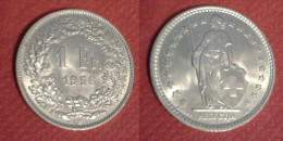 SVIZZERA  1  FRANCHO  1956   ARGENTO Q,FDC - Svizzera