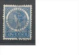 1904 USED Curaçao Gestempeld - Curaçao, Antilles Neérlandaises, Aruba