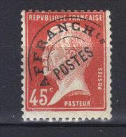 FRANCE  N°67* (1924) - Préoblitérés