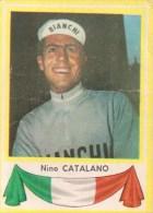Nino Catalano Italia Kaartje Chromo (5 X7cm) Coureur Wielrenner Renner Cycliste Velo Fiets Bicyclette Cyclisme - Wielrennen
