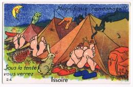 S403 @ 63 @ ISSOIRE @ BELLE CPA : CARTE A SYSTEME @ A VOIR !!! - Issoire