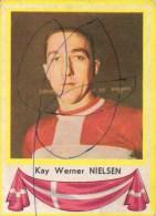 Kay Werner Nielsen Denemarken Kaartje Chromo (5 X7cm) Coureur Wielrenner Renner Cycliste Velo Fiets Bicyclette Cyclisme - Wielrennen