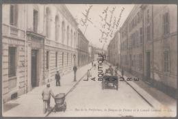 88--EPINAL--Rue De La Préfecture-la Banque De France Et Le Conseil Général---animé - Epinal