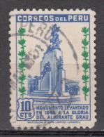Peru   Scott No. 434   Used   Year  1949 - Peru