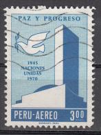 Peru   Scott No. C292   Used   Year  1970 - Peru