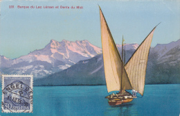 Barque Du Léman Et Dents Du Midi - VD Vaud