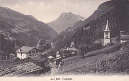 FINHAUTS - Oblitérée Le 25.VIII.1910 - VS Valais