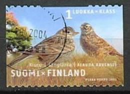 Finlande Alouette Yvert 1596 Oblitéré Image Non Contractuelle Cote 1,00 - Ohne Zuordnung