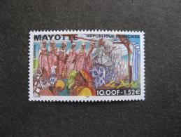 Mayotte: TB PA N°4, Neuf XX . - Poste Aérienne
