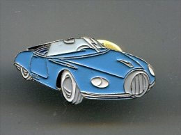 PINS Automobile Bleue Jaguar / éditions Atlas - Jaguar