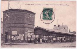 5 - BEUZEVILLE -la Halle-Boucherie Et Le Château D'eau - Ed.Th Lefèvre - Francia