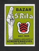 SCHERPENHEUVEL - Bazar St. Rita - Gez. Nijs  (S 1545) - Autocollants