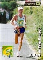 LOZERE, MENDE, Cachet Temporaire Du Semi Marathon Du 25 Juillet 1999 (dominique Chauvelier Coureur) - FDC