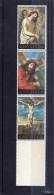 ANGUILLA 1973 EASTER CHRIST STRIP PASQUA CRISTO STRISCIA MNH - Anguilla (1968-...)