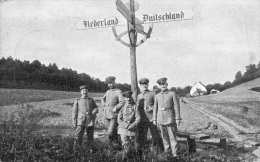 Douane-frontière : Allemagne-Hollande -carte Animée (1927) - Douane