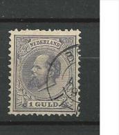 1872 USED  Gestempeld - 1852-1890 (Guillaume III)