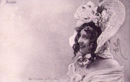Personnalité : Germaine D'Orville - CPA (1908) - Cartes Postales