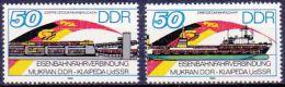 DDR 1986 / MiNr.  3052 – 3053   ** / MNH   (m781) - [6] République Démocratique