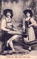 Musique : Duo Abini - Carte Animée (1909) - Musique Et Musiciens