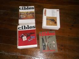 """Lot De La Revue """"Cibles"""". - Revues & Journaux"""