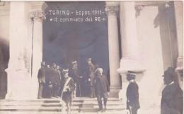 Torino Esposizione 1911 - Il Commiato Del Re - Case Reali