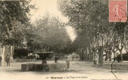 20.  MONTEUX - La Place Et Le Cours - France