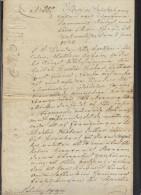 Schweden Sweden Dokument 1830 - Gebührenstempel, Impoststempel