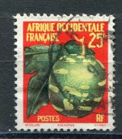 AFRIQUE OCCIDENTALE FRANCAISE  N°  69  (Y&T)  (Oblitérés) - Usati