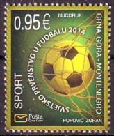 Montenegro 2014 Soccer, Football, FIFA World Cup Brazil, MNH - 2014 – Brazil
