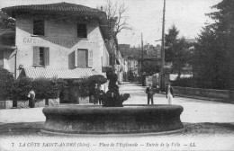 20.   LA COTE ST ANDRE - Entrée De La Ville - La Côte-Saint-André