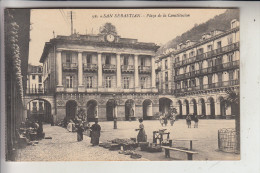 E 20000 SAN SEBASTIAN, Placa De La Constitution - Cantabria (Santander)