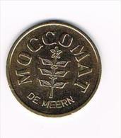 ¨ OUDE  JETON  MOCCOMAT  DE MEERN - Firma's