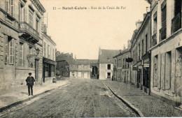 20   SAINT  CALAIS    -    RUE  DE  LA  CROIX  DE  FER - Saint Calais