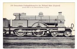 Lokomotive - Dreizylinder Der Midland-Bahn (England) - Trains