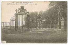 CPA 27 CHATEAU DE LA MESANGERE LA GRILLE AUX CERFS PAR DELASSUS EN 1753 - Ohne Zuordnung