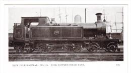 Lokomotive - TAFF VALE RAILWAY N°170 - Trains