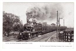 Lokomotive - Manchester Express Near Weedon - Trains