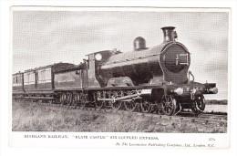 "Lokomotive - Highland Railway ""Blair Castle"" Six Coupled Express - Trains"