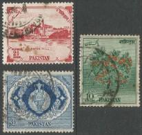 Pakistan. 1957 First Anniv Of Republic. Used Complete Set. SG 87-9 - Pakistan