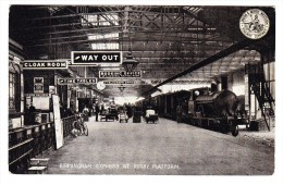 Lokomotive - Birmingham Express At Rugby Platform - Trains