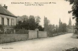 20      ST DENIS LES  PONTS       -   ECOLE  COMMUNALE  DES  FILLES - France