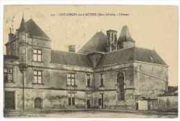 CPA 79 COULONGES SUR L'AUTIZE CHATEAU - Coulonges-sur-l'Autize