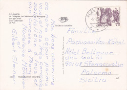 SVIZZERA  /   ITALIA  -  Card _ Cartolina - Storia Postale