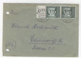 BRD Michel No. 174 Paar auf Brief