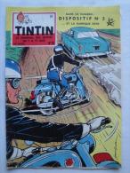 Tintin N°10 De 1958 Couverture  Et Histoire Complete  De Graton (Auteur De M. Vaillant) , Expo 58  Bon état - Tintin