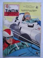 Tintin N°26 De 1958 Couverture  Et Histoire Complete De Graton (auteur De M.Vaillant) Tour De France Expo 58  Bon état - Tintin
