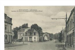 PETIT RONCHIN - LILLE BANLIEUE - CARREFOUR DES RUES DE FAUBOURG DE DOUAI ET ARMAND J. CARREL - Francia